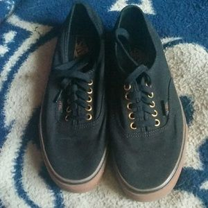 Black men's 8.5 Women's 10 Vans Bmx Skateboarding